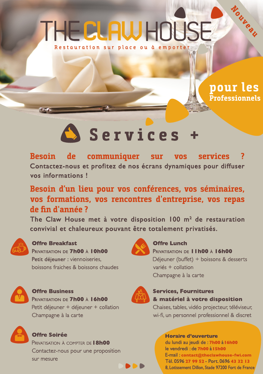Flyer Claw House Services Plus
